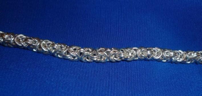 цепочка королевское плетение