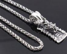цепочка серебряная