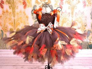 вариант 1 осеннего платья
