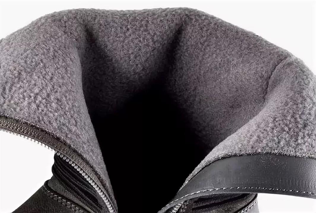 ворсин байка в ботинках