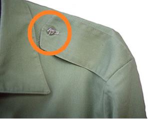 Пуговица на рубашке