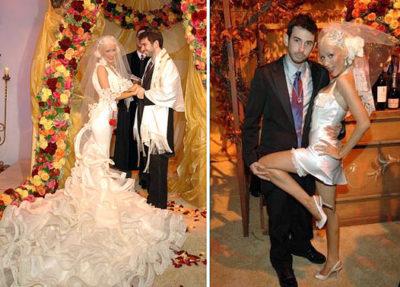 свадебное платье Кристины