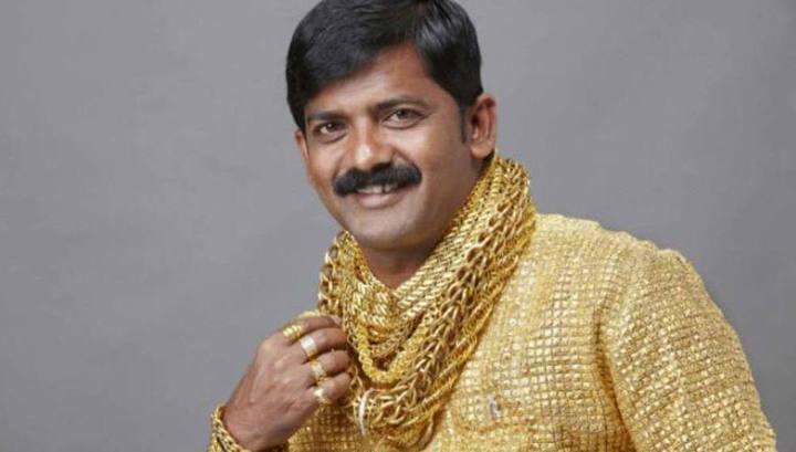 Рубашка из золота