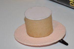 заколка шляпка 1
