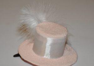заколка шляпка 3