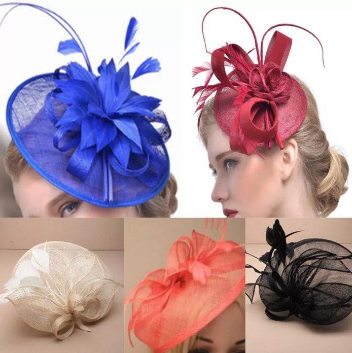 заколка шляпка всех цветов