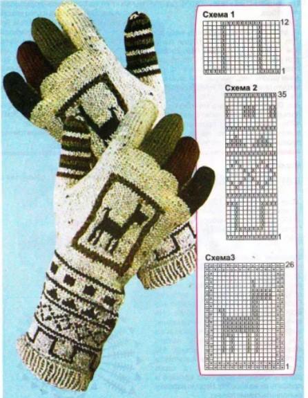 женские перчатки 1