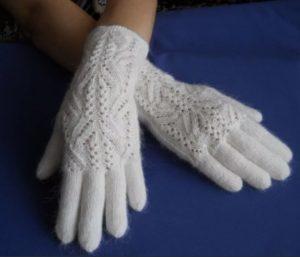 женские перчатки спциами