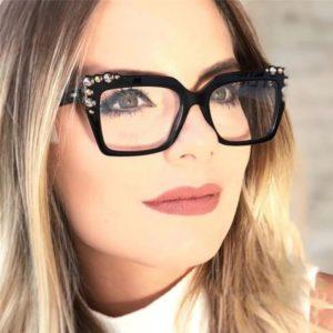 1 очки со стразами