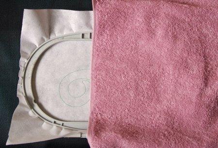 Петелька на полотенце