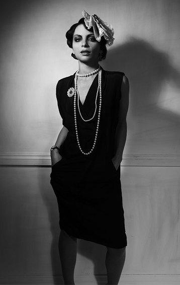 Чёрное платье Коко Шанель