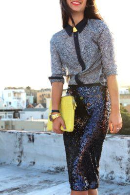 блестящая одежда