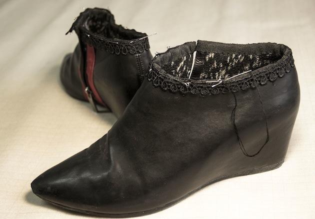 Туфли из сапог