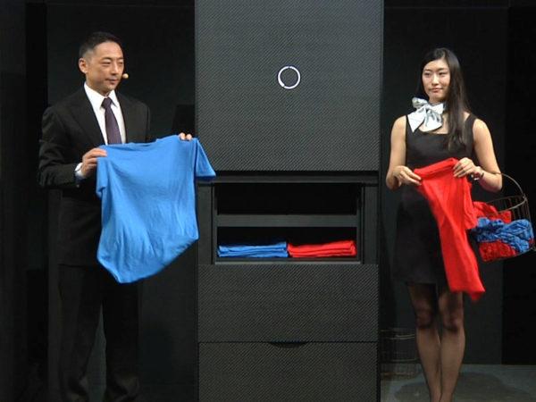 Складыватель одежды Laundroid