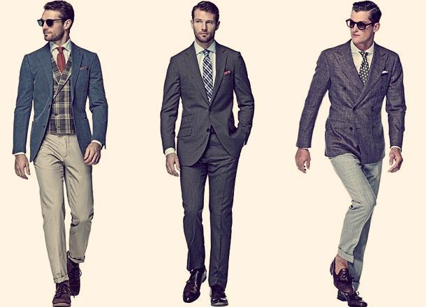 Деловой дресс код для мужчин