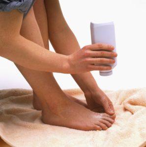профилактика запаха ног
