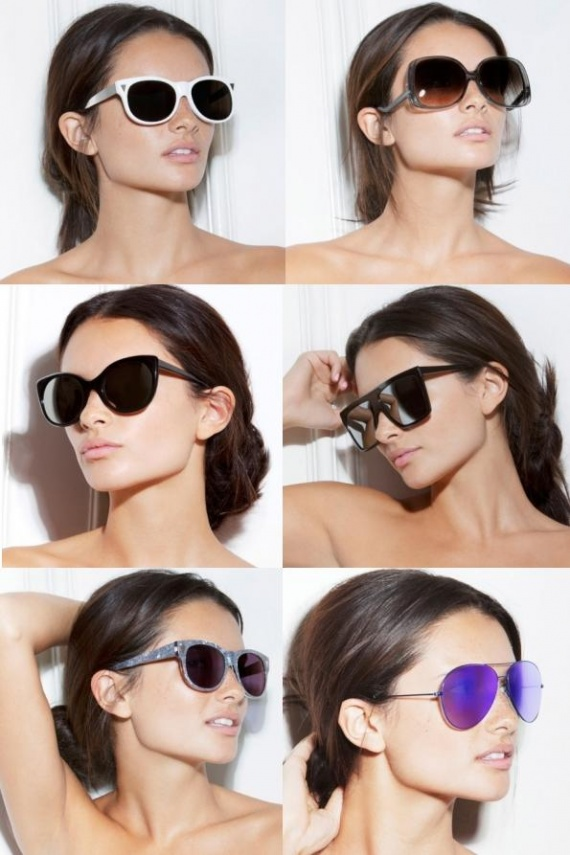 Модели женских очков