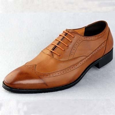 Мужская обувь из искусственной кожи