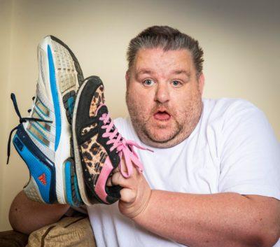 гигантская обувь