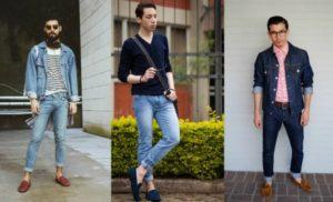 мокасины с джинсами
