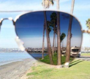 затемнение в очках