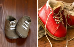 ботинки для первых шагов