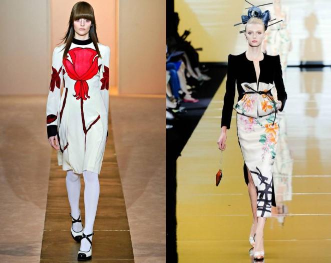 образы с японским платьем