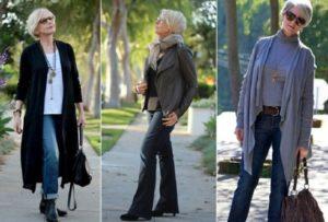 примеры джинсов для 50-летних