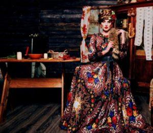 фольклорное платье