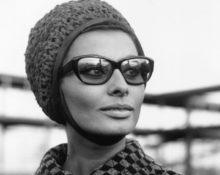 софи лорен в очках