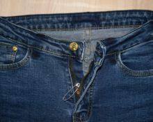 Что делать если расстегивается молния на джинсах