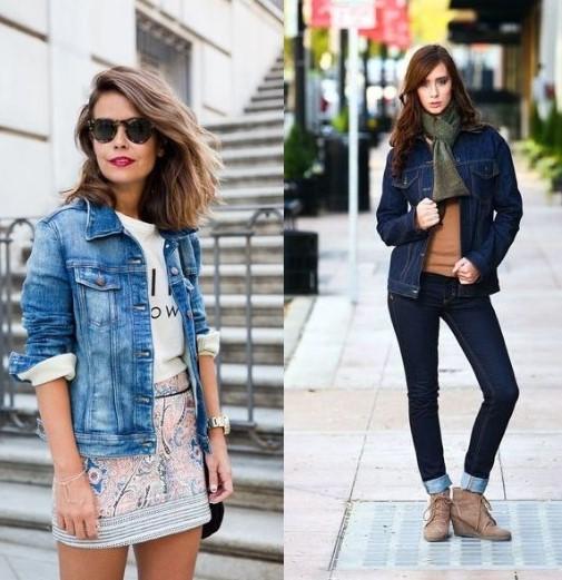 Простые джинсы, джинсовая куртка