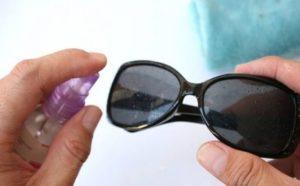 полировка солнцезащитных очков