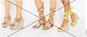 с летней обувью