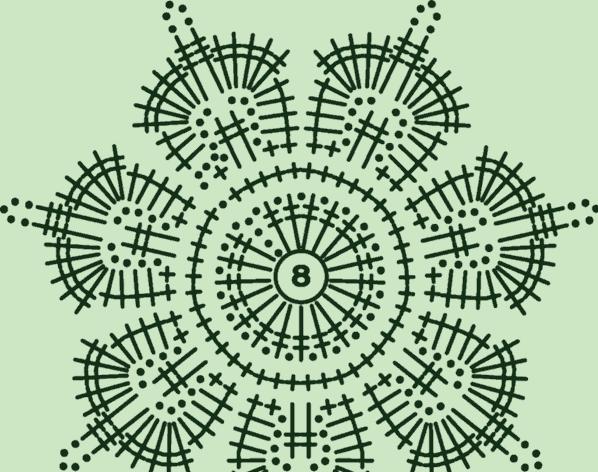 ажур цветок 2