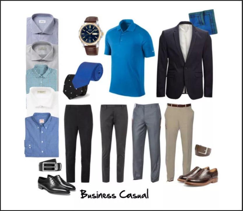 бизнес кэжуал 11