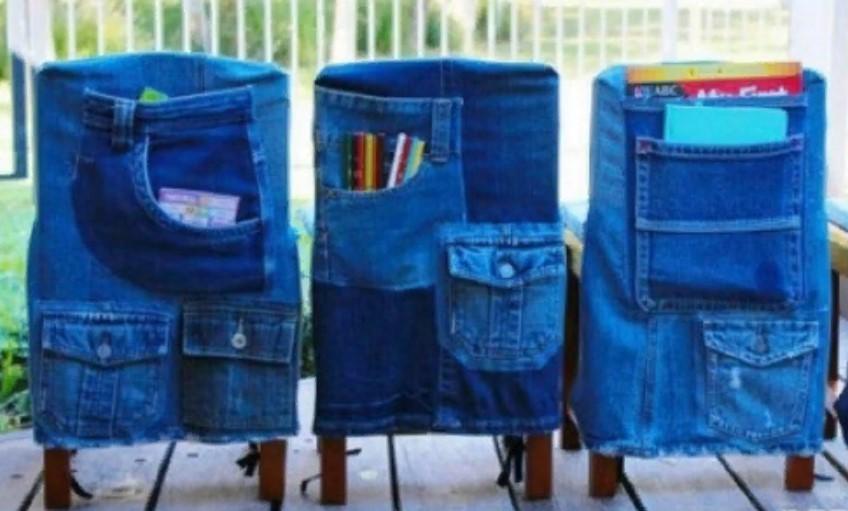 джинсы чехол на стул
