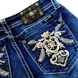 джинсы эмблема
