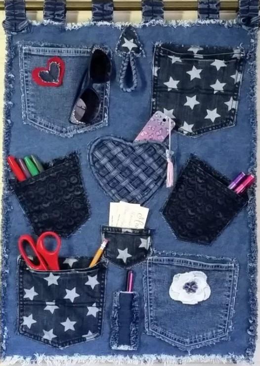 джинсы карманы 9