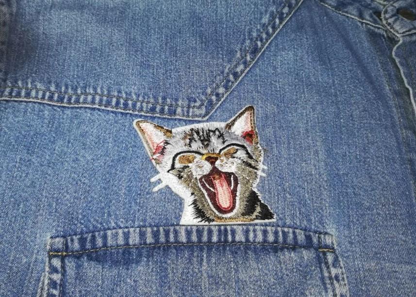 джинсы кот