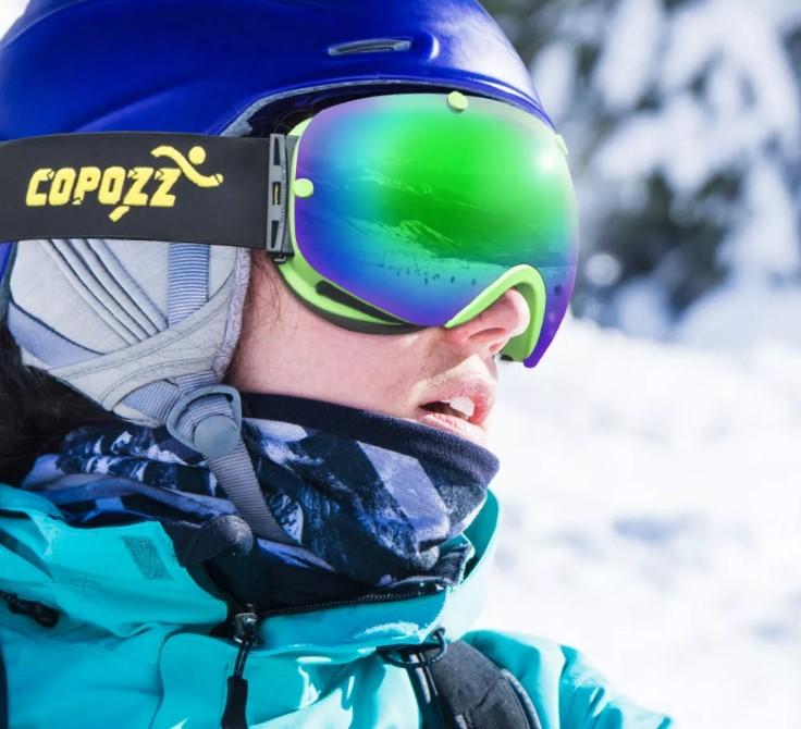 горные лыжи 9