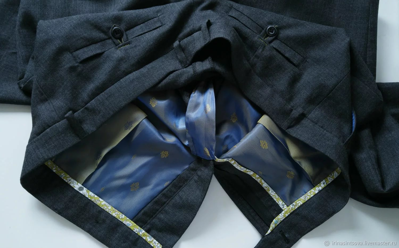 подкладка на брюках