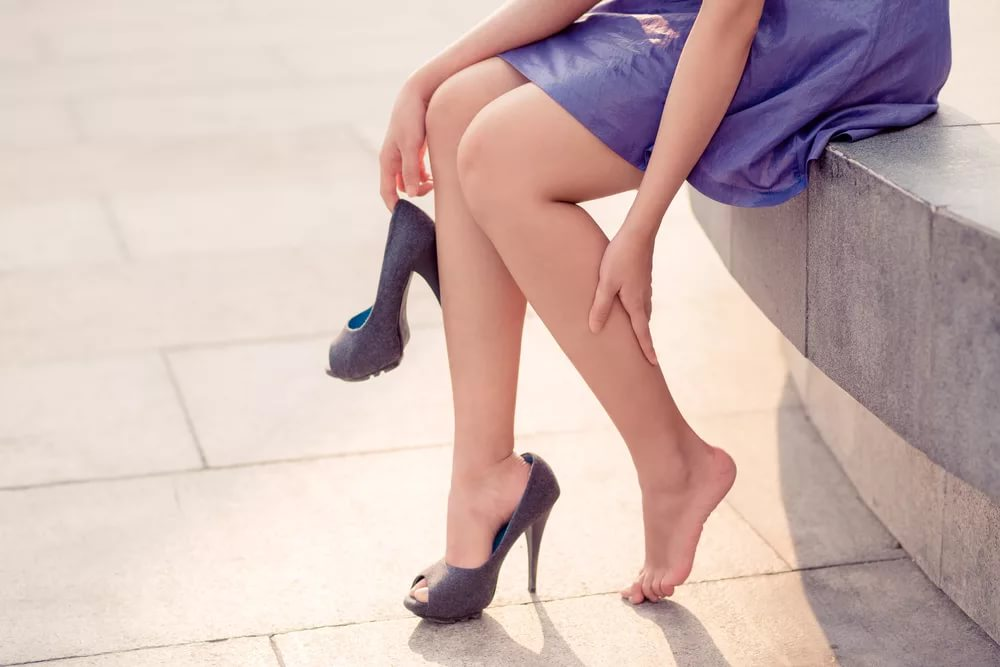 Как антискользящие колготки помогают носить туфли на самом высоком каблуке