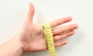 как измерить размер руки для перчаток