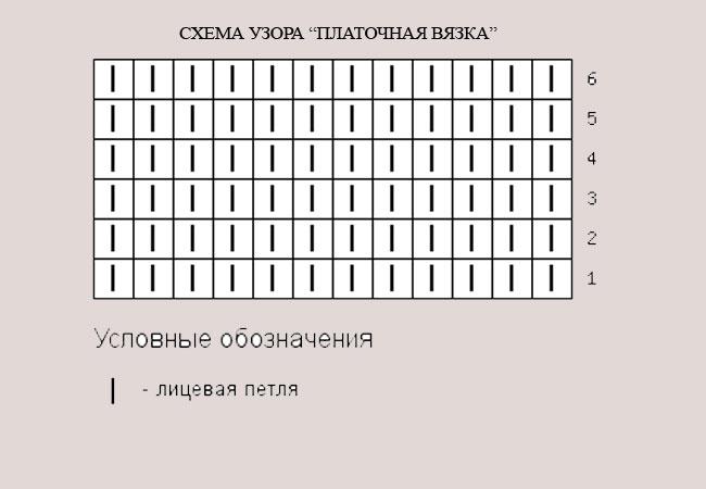 карманы платочная вязка 2-2