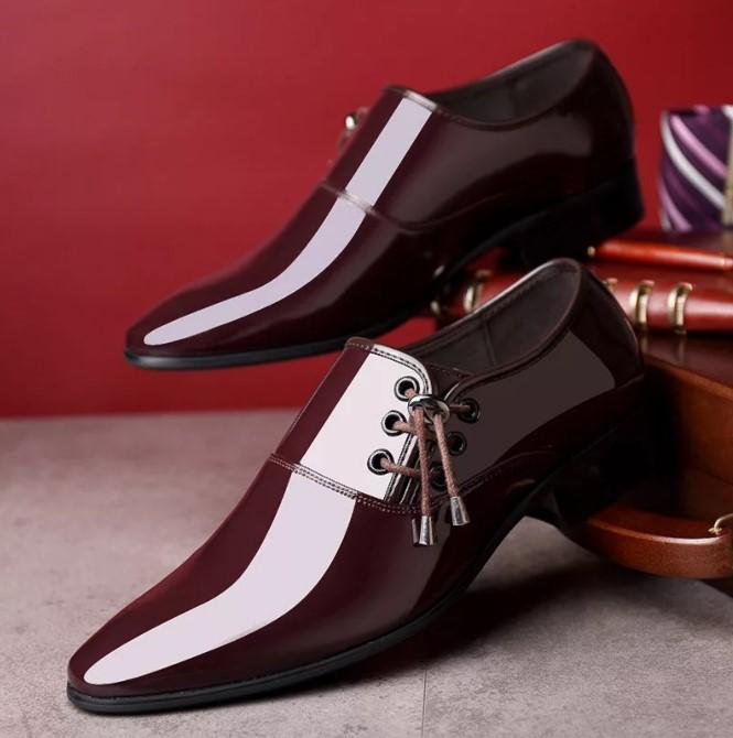 кожа лакированная обувь