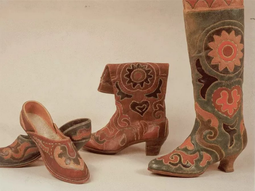 кожа обувь из сафьяна