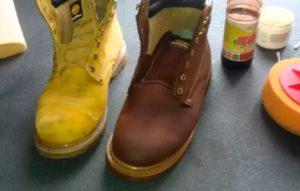краска замшевой обуви 2