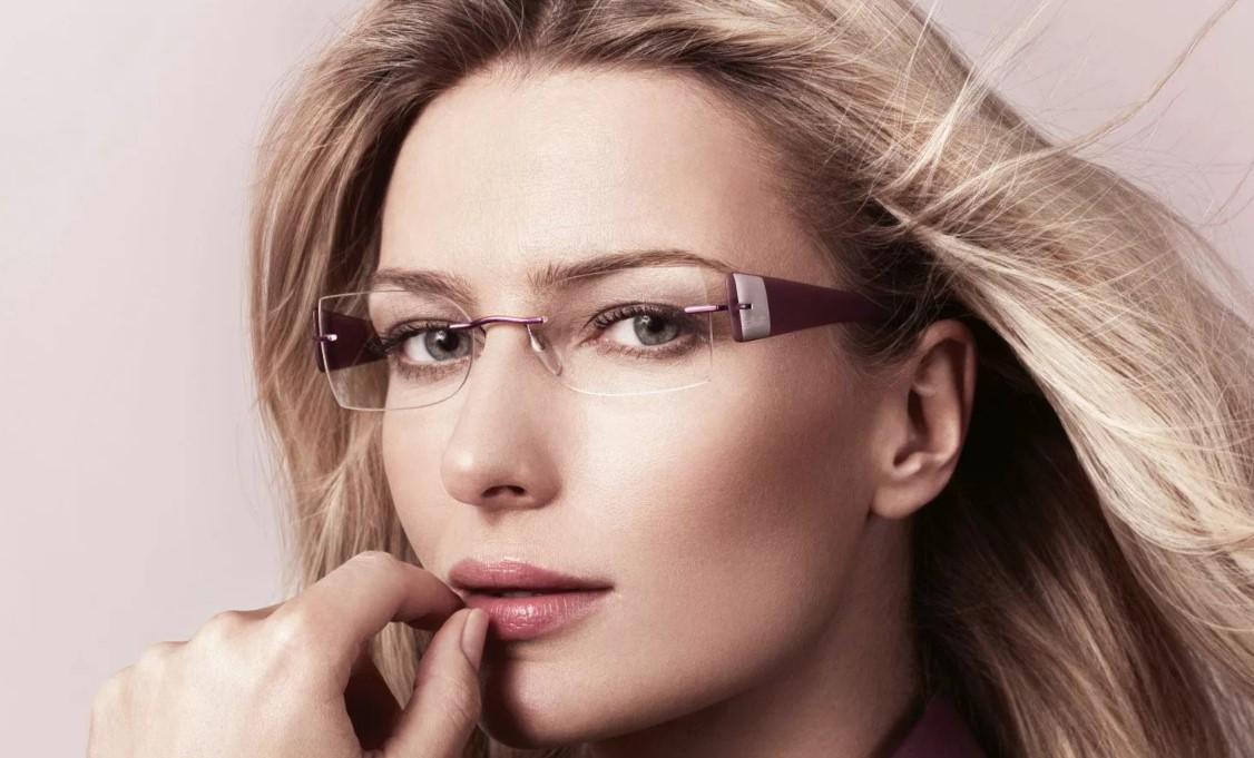 красота прозрачные очки