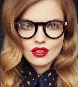 круглые очки 10